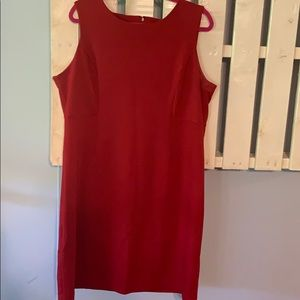 Sleeveless red